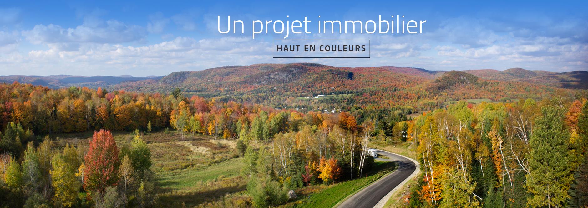 Un projet immobilier haut en couleurs