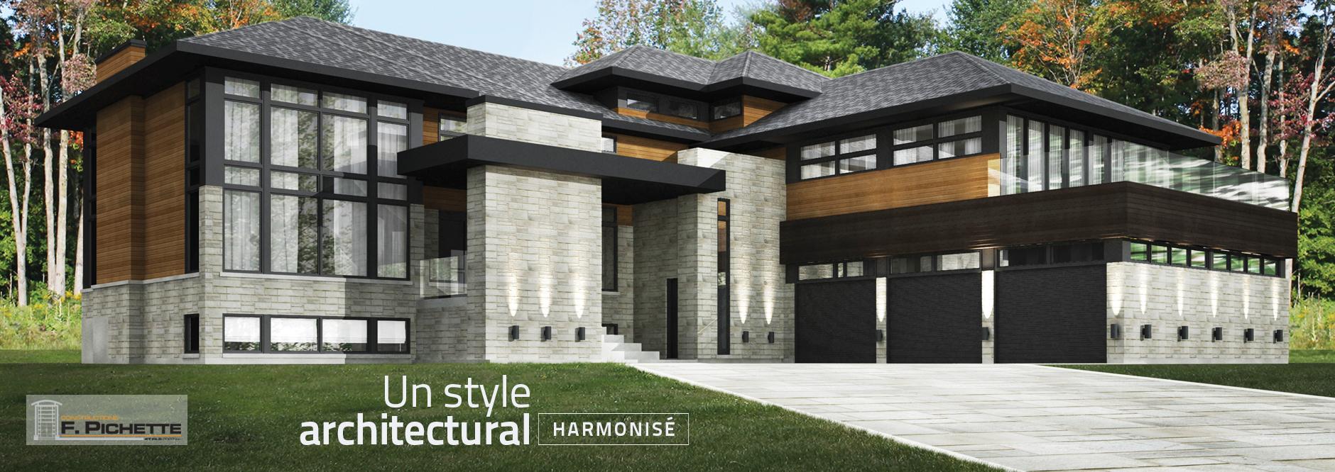Un style architectural harmonisé